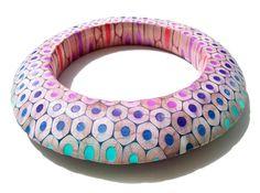 Maria Cristina Bellucci Bracelet: 12 bracelet 2 2012 Coloured pencils