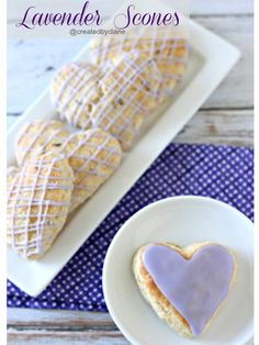 Let's be honest: When we saw these heart-shaped pastries, it was love at first bite. Err, we mean sight.