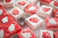 holiday puzzle marshmallows peppermint