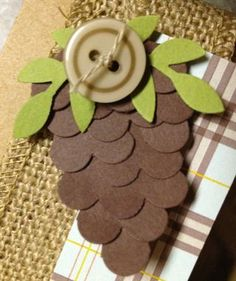 Made using the Scallop Circle Stampin' Up!