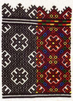 Nyzynka embroidery of western Ukraine