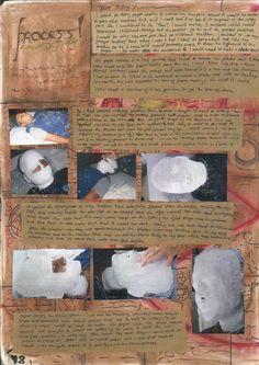 Journey Project: Process pages by Chhavi Kumar Art Portfolio, Art Pieces, Journey, Create, Projects, Log Projects, Blue Prints, Artworks, Art Work