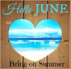 Hello June... Bring on Summer ☀️