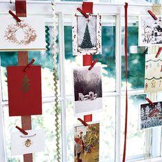 InspireBlog – Lifestyle DIY: Ideias para expor cartões de Natal - InspireBlog - Lifestyle