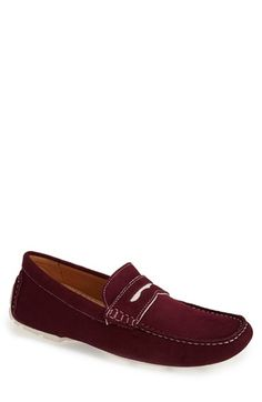 1901  Miami  Suede Driving Shoe (Men) available at  Nordstrom Mens Slip 9c2a9ff0469