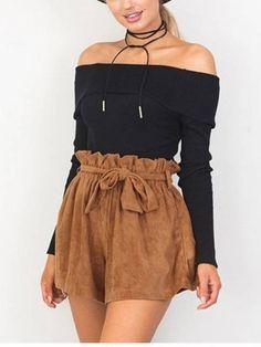 Short Cintura Alta de Sued - Compre Online | DMS Boutique