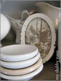 I have a weakness for ironstone anyway and these heavy, dense ironstone bowls are awesome!