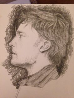 A sketch I did of the actor who plays Jamie Lannister in Game of Thrones a while ago (I forget his name)