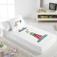 Juego sábanas modelo Faro, cama 90 de TUTTICONFETTI