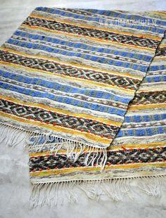 Svea A masterpiece Mid century Swedish Rag Rug by Maranghouse