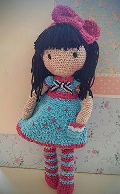 Muñeca Mariquilla a crochet.