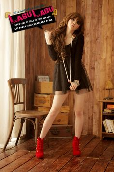 WOMEN APPAREL :: Dresses :: P60614 # 2012 New Korean Women Plush High Waist Gauze Dress - Online Shop Philippines : Online Shopping Philippines, Wholesale Home Furniture, Kids Furniture, Hotel Furniture, Modern Furniture, Office Furniture, Outdoor Furniture