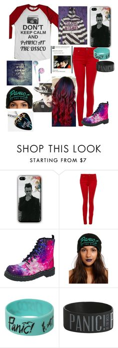 """Panic! At The Disco"" by werewolflover0302 ❤ liked on Polyvore featuring Paige Denim and T.U.K."