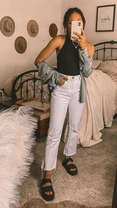 Basic Outfits, Cute Casual Outfits, Comfy Fall Outfits, Comfortable Outfits, Fashion Mode, Fashion Outfits, Fasion, Spring Outfits, Lazy Summer Outfits