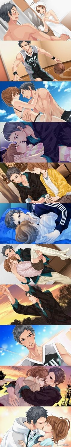 Brothers conflict: Subaru and Ema. I ship it!