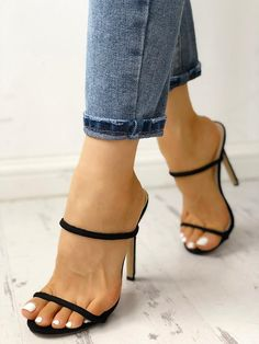 Shop Solid Suede Peep Toe Slingback Chunky Heels right now, get great deals at joyshoetique Lace Up Heels, Pumps Heels, Stiletto Heels, High Heels, Heeled Sandals, Strappy Sandals, Double Strap Sandals, Sandal Heels, Peep Toe Pumps