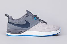 detailed look 05d67 a7780 Nike SB Project BA Cool Grey Armory Navy-Matte Silver-Photo Blue