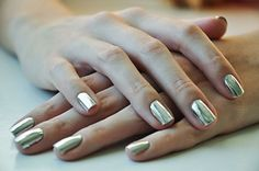 6. What will your manicure look like? #TheHostPremiereParty  Definiatly silver chrome.I love the ones in the picture.