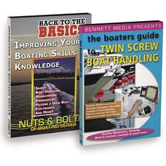 Bennett DVD - Boaters Guide to Boat Handling DVD Set - https://www.boatpartsforless.com/shop/bennett-dvd-boaters-guide-to-boat-handling-dvd-set/