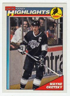 Wayne Gretzky # 201 - 1991-92 O-Pee-Chee Hockey Hockey Cards, Baseball Cards, Ice Hockey Players, Wayne Gretzky, National Hockey League, Trading Cards, Nhl, Mint, Sports