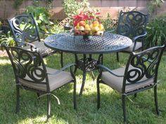 18 best cast tubular aluminum outdoor furniture images outdoor rh pinterest com