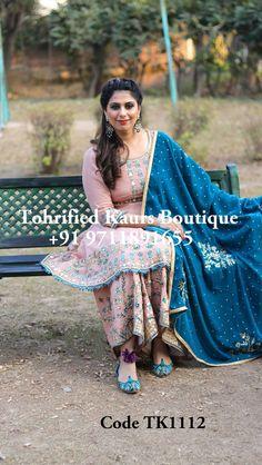 Love the colour combo Punjabi Suits Designer Boutique, Boutique Suits, Indian Designer Suits, Punjabi Suits Party Wear, Indian Party Wear, Indian Attire, Indian Outfits, Indian Dresses, Latest Punjabi Suits Design