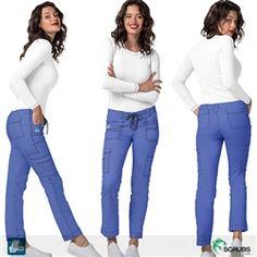 5749e841d5b Adar Medical 3108 - Pop Stretch Women's Slim Cargo Scrub Pants at Scrubs.com  Slim