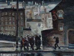 TURNER William Ralph,Rain in Bury,Peter Wilson's,Nantwich