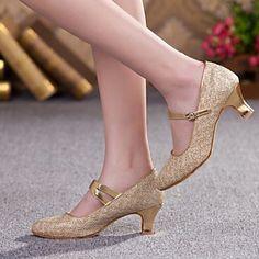 Sapatos de Dança (Prateado/Dourado/Chocolate) - Mulheres - Não Personalizável - Moderno/Sapatos Padrão – EUR € 25.19