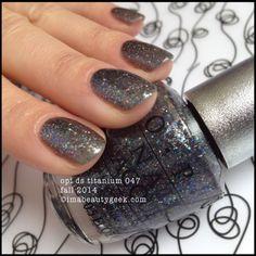 OPI DS Titanium 047 OPI Fall 2014 Beautygeeks