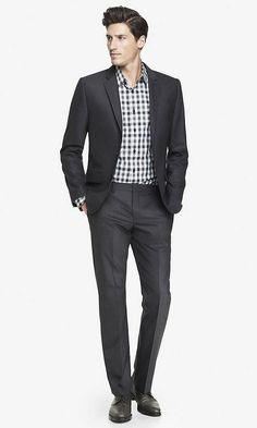 END-ON-END PHOTOGRAPHER SUIT PANT | Express