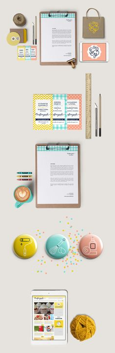 Craftingeek by Cherry Bomb Design Studio, via Behance