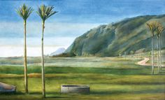 Stanley Palmer - I love his work New Zealand Art, Jr Art, Maori Art, Kiwiana, Landscape Paintings, Landscapes, Queen, Elizabeth Ii, Unique Art