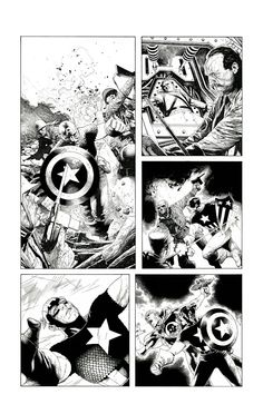 'Captain America' by Travis Charest