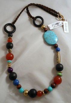 Lucky Brand Jewelry Hippie Bead Necklace