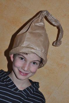 chapeau de lutin en papier