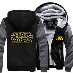 Star Wars Hoodie Sweatshirt Jacket - free shipping worldwide