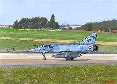 Mirage 2000 C en Cambrai