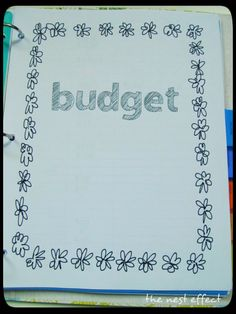 The Nest Effect: Finances & Home Information Binder: Budget, Income, & Business Expenses