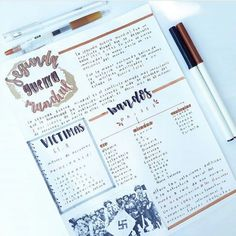 Bullet Journal Lettering Ideas, Bullet Journal Notes, Bullet Journal School, Homework Planner, Study Planner, School Organization Notes, School Notes, Cute Notes, Pretty Notes