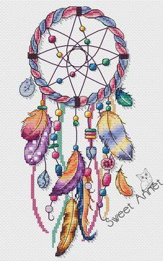 Cross Stitch Kitchen, Cross Stitch Love, Counted Cross Stitch Kits, Cross Stitching, Cross Stitch Embroidery, Cross Stitch Patterns, Diy Sewing Projects, Craft Stick Crafts, Dream Catcher