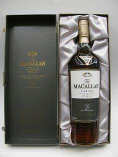The #Macallan 21 Year Old Fine Oak Single Malt #Scotch #Whiskey ($300)