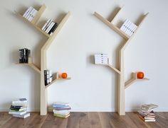 Wooden Bookshelf BookTree