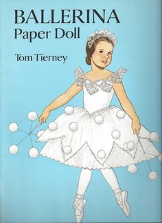 Ballerina Paper Doll by Tom Tierney C1994 by thecollectiblechest