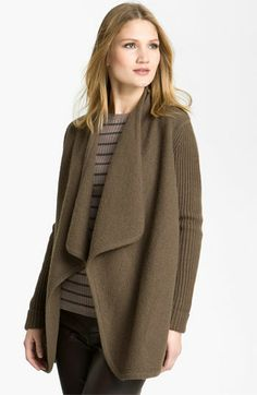 #Vince Draped Boiled Wool Jacket at #Nordstrom