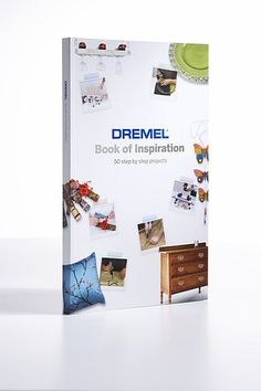 Dremel& Book of Inspiration DIYWeek Product information Dremel 3000, Dremel Werkzeugprojekte, Dremel Carving, Carving Wood, Dremel Multi Tool, Dremel Rotary Tool, Dremel Tool Projects, Wood Projects, Dremel Ideas