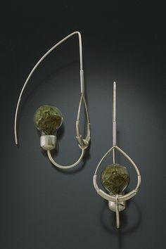 Kinetic Earrings #1 by ANGELA BUBASH-USA(http://angelabubash.com)