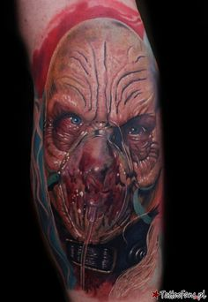 Dr. Satan Tattoo By Mario Hartmann