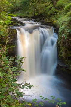 Incredible: Hendrhyd Falls is the highest falls in the Brecon Beacons and is a short distance from Coelbren
