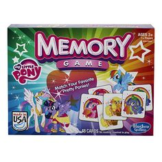 "My Little Pony Memory Game - Hasbro - Toys ""R"" Us"